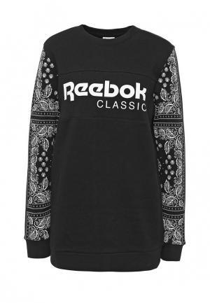 Свитшот Reebok Classics. Цвет: черный