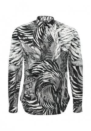Рубашка Just Cavalli. Цвет: черно-белый