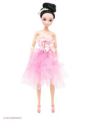 Кукла шарнирная Анна VELD-CO. Цвет: бежевый, фуксия