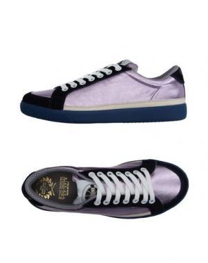 Низкие кеды и кроссовки PANTOFOLA D'ORO. Цвет: светло-фиолетовый