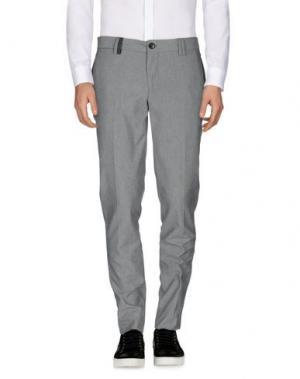 Повседневные брюки HARRY & SONS. Цвет: серый