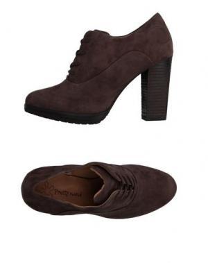 Обувь на шнурках PRETTY NANÃ. Цвет: темно-коричневый