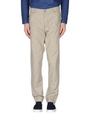 Повседневные брюки MASON'S JEANS. Цвет: светло-серый