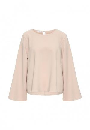 Блуза Aurora Firenze. Цвет: бежевый
