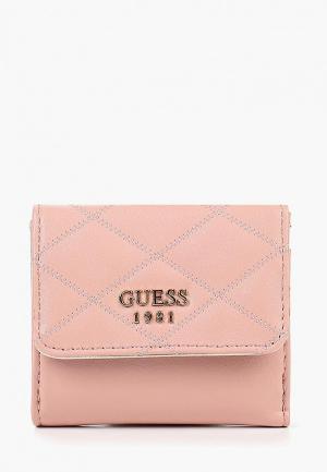 Кошелек Guess. Цвет: розовый