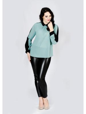 Блузка Лагуна. Цвет: оливковый