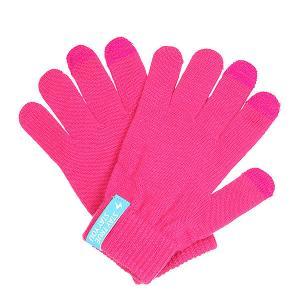 Перчатки  Touch Gloves Pink TrueSpin. Цвет: розовый