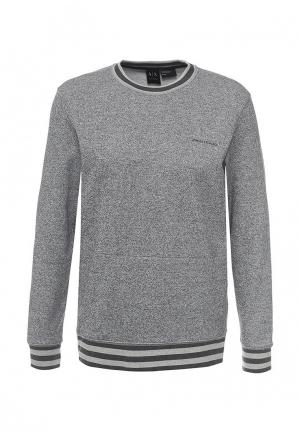 Свитшот Armani Exchange. Цвет: серый