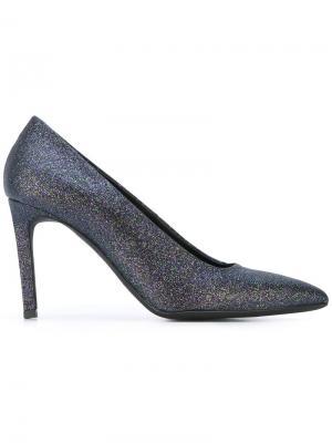 Туфли на шпильке A.F.Vandevorst. Цвет: чёрный