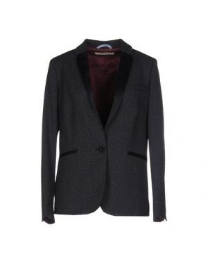Пиджак TRUE TRADITION. Цвет: свинцово-серый