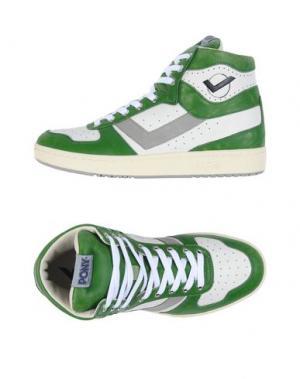 Высокие кеды и кроссовки PONY. Цвет: зеленый