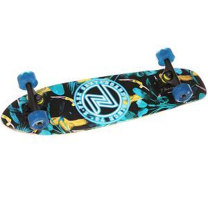 Скейт мини круизер  Z-flex Cruiser 27 Dos Flamingos Penny. Цвет: мультиколор