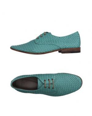 Обувь на шнурках SARTORI GOLD. Цвет: светло-зеленый