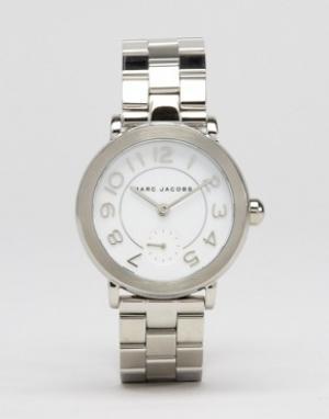 Marc Jacobs Часы Riley MJ3469. Цвет: серебряный