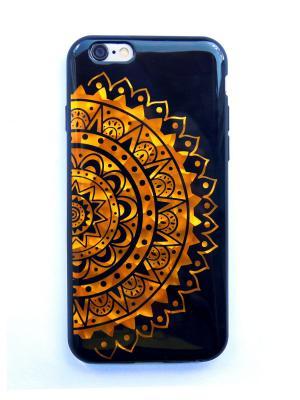 Чехол для Iphone 6/ 6S Lola. Цвет: черный, золотистый