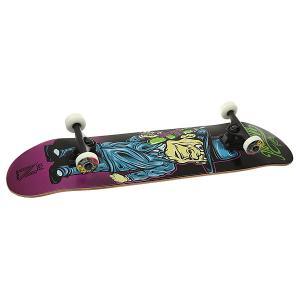 Скейтборд в сборе  Watergun Mob Purple 31.75 x 8 (20.3 см) Nomad. Цвет: мультиколор