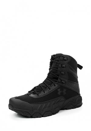 Ботинки трекинговые Under Armour. Цвет: черный