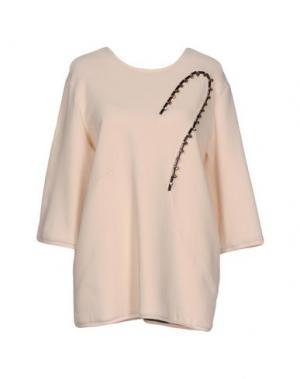 Блузка CARLO CONTRADA. Цвет: светло-розовый