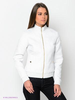 Куртка CONVER. Цвет: белый