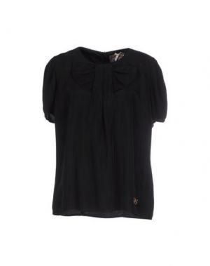 Блузка ATELIER FIXDESIGN. Цвет: черный