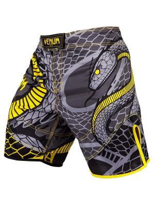 Шорты ММА Venum Snaker Black/Yellow. Цвет: черный,желтый