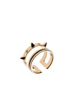 Кольцо MARIA FRANCESCA PEPE. Цвет: золотистый