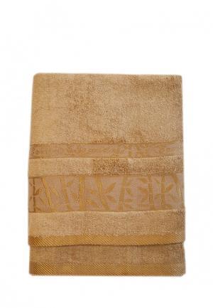 Комплект полотенец 2 шт. La Pastel. Цвет: коричневый