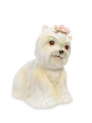 Статуэтка Собака (Pavone) Pavone. Цвет: молочный