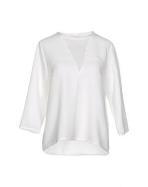 Блузка SECOND FEMALE. Цвет: слоновая кость