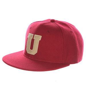 Бейсболка с прямым козырьком Truespin Abc Bordo U. Цвет: бордовый