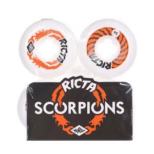 Колеса для скейтборда  Scorpions White/Orange 81B Ricta. Цвет: белый,оранжевый