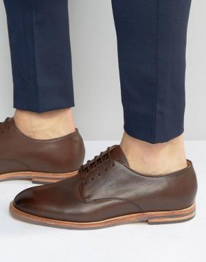 Hudson London Туфли Hadstone. Цвет: коричневый