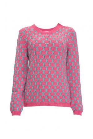 Джемпер из шелка с кашемиром 136704 Sweet Sweaters. Цвет: розовый