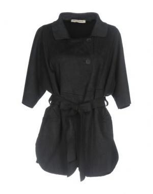 Легкое пальто PAOLO CASALINI. Цвет: черный