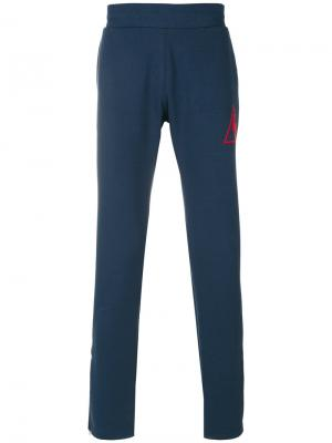 Спортивные брюки с логотипом Le Coq Sportif. Цвет: синий