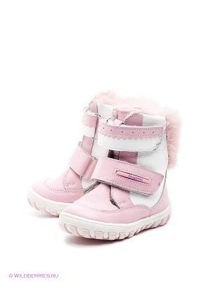 Ботинки ShagoVita. Цвет: розовый