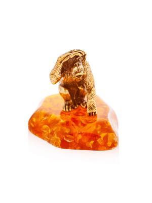 Фигура Обезьяна Все вижу Aztek. Цвет: желтый, коричневый, светло-оранжевый