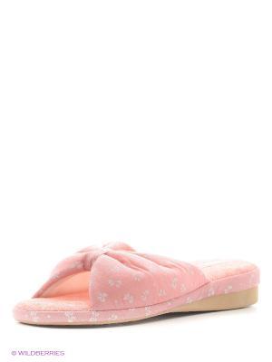Тапочки LAMALIBOO. Цвет: розовый