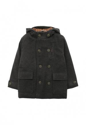 Пальто Esprit. Цвет: серый