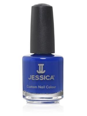 Лак для ногтей  # 930 Alia-Sun-Kissed Beauty, 14,8 мл JESSICA. Цвет: синий