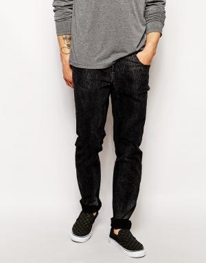 Zee Gee Why Супероблегающие джинсы со змеиным принтом Sticks & Bones