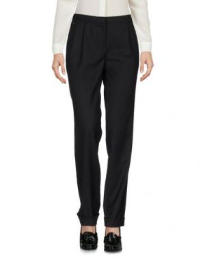 Повседневные брюки MANILA GRACE. Цвет: черный
