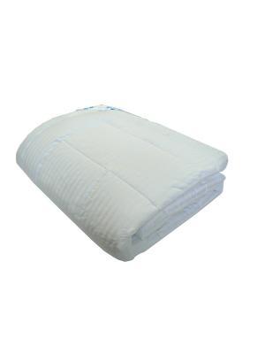 Одеяло Лебяжий пух 1,5 спальное Василиса. Цвет: белый