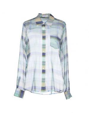 Pубашка EQUIPMENT FEMME. Цвет: бирюзовый