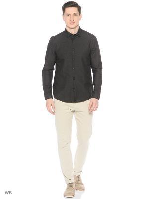 Рубашка MEXX. Цвет: черный