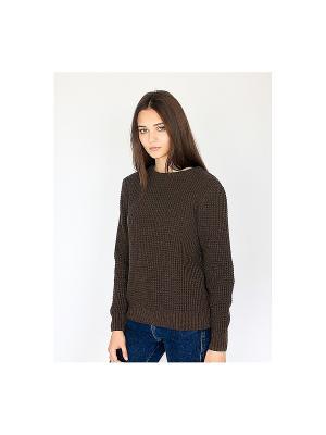 Свитер Wooly's. Цвет: темно-коричневый