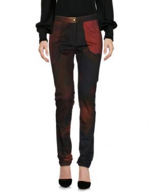 Повседневные брюки CHALAYAN. Цвет: кирпично-красный