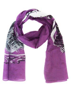 Платок Passigatti. Цвет: лиловый