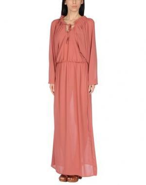 Пляжное платье CHRISTIES. Цвет: кирпично-красный