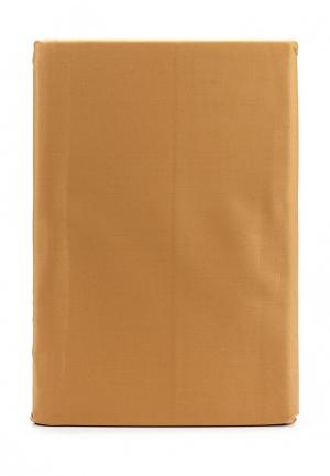 Комплект постельного белья 1,5-спальный Хлопковый Край. Цвет: оранжевый